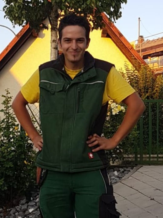 Mitarbeiter Baumpflege Matt Murg - Oberhof